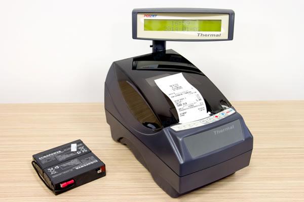 Drukarka fiskalna Posnet Thermal FV - Wytrzymały akumulator, który uchroni Cię od przerw w sprzedaży