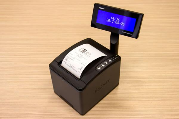 Drukarka fiskalna Posnet Thermal HD - Szybki i nowoczesny mechanizm drukujący