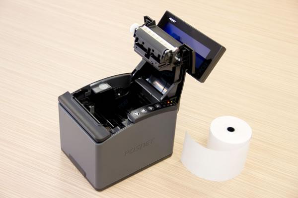 Drukarka fiskalna Posnet Thermal HD - Obsłuży 2 szerokości wydruku - 57 i 80 mm