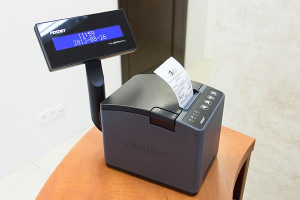 Drukarka fiskalna Posnet Thermal XL - Doskonale współpracuje z komputerem